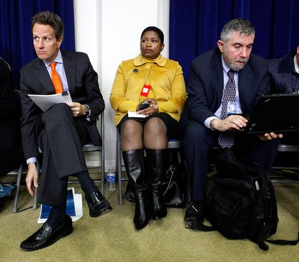 Geithner Krugman